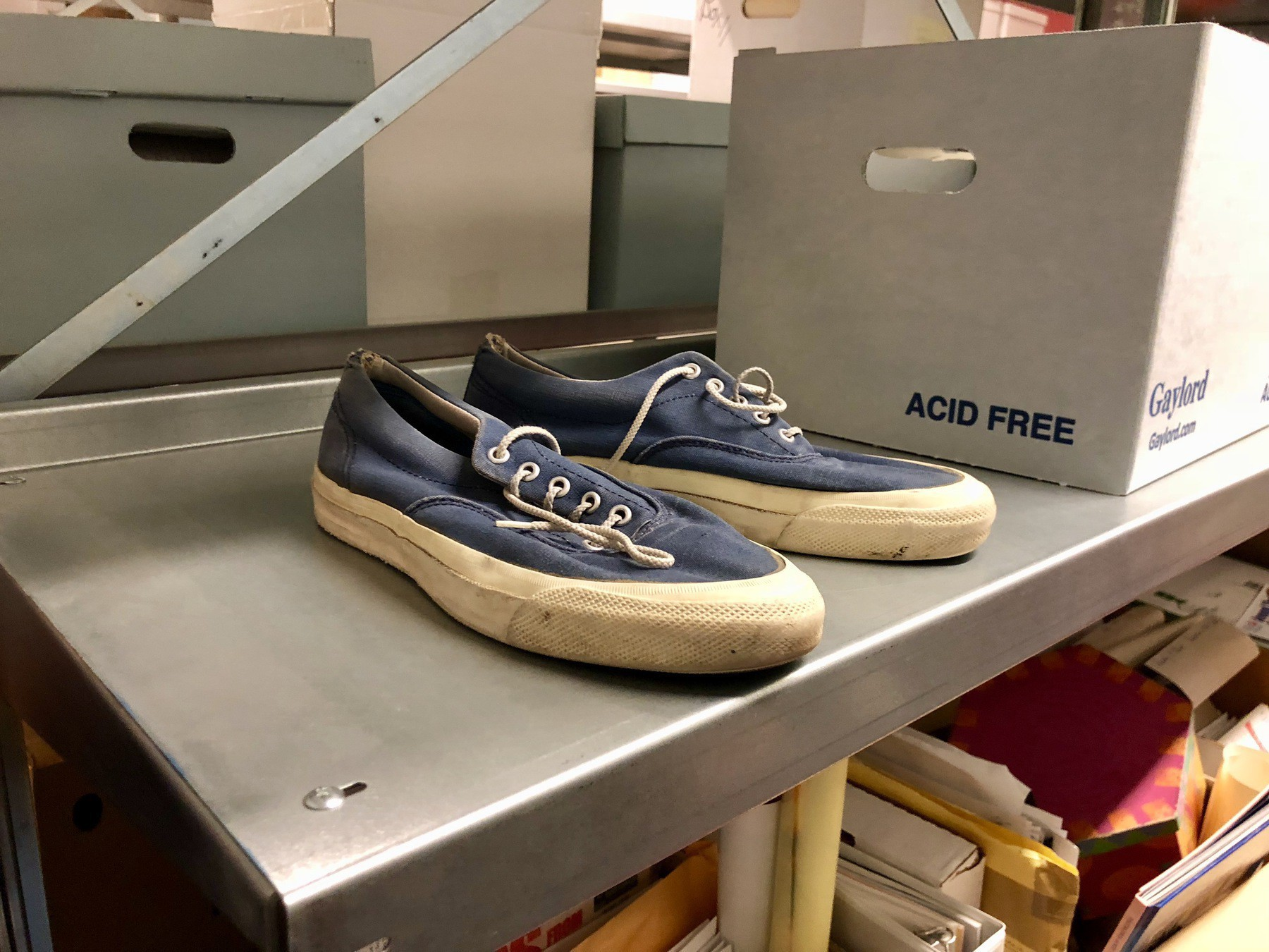 Fred Rogers (Mr. Rogers) Shoes at the Fred Rogers Center Archive